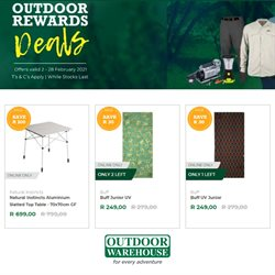 Outdoor Warehouse catalogue ( Expires today)
