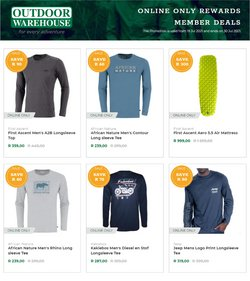 Jeep offers in the Outdoor Warehouse catalogue ( Expires today)