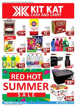 KitKat Cash and Carry catalogue in Roodepoort ( More than a month )