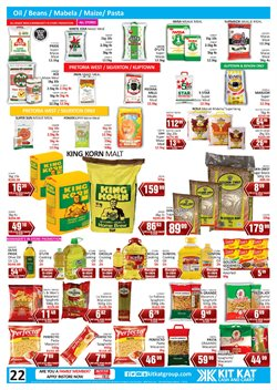 Olive oil specials in KitKat Cash and Carry