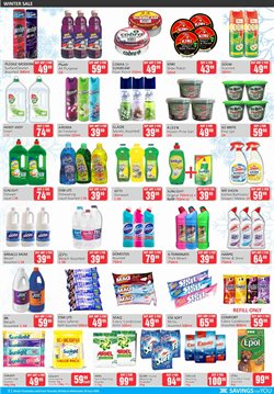 Bleach specials in KitKat Cash and Carry