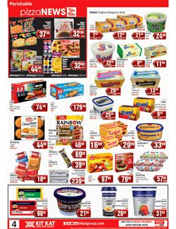 Lancewood specials in KitKat Cash and Carry