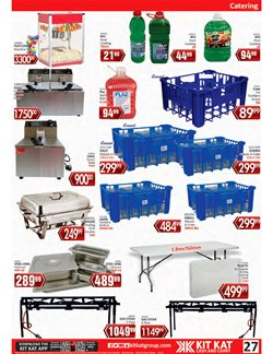 Deep fryer specials in KitKat Cash and Carry