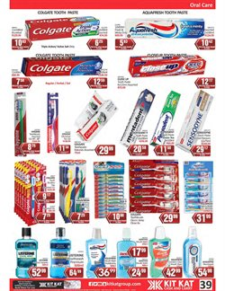 Calendar specials in KitKat Cash and Carry