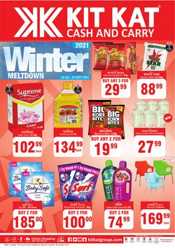 KitKat Cash and Carry catalogue ( More than a month)
