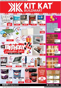 Groceries offers in the KitKat Cash and Carry catalogue ( 3 days left)