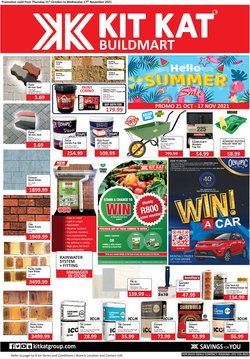 Groceries offers in the KitKat Cash and Carry catalogue ( Published today)