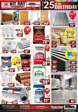 Tiles offers in the Kit Kat Cash & Carry catalogue in Pretoria
