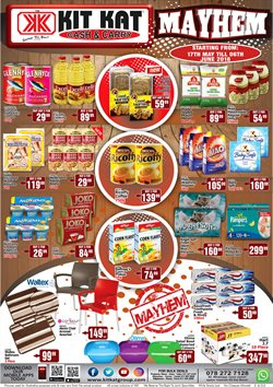 Groceries offers in the Kit Kat Cash & Carry catalogue in Johannesburg
