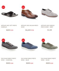 Sneakers offers in the Old Khaki catalogue in Cape Town