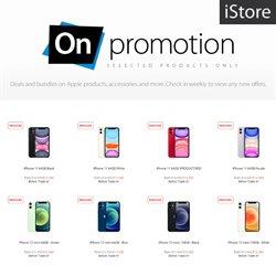 IPhone specials in iStore