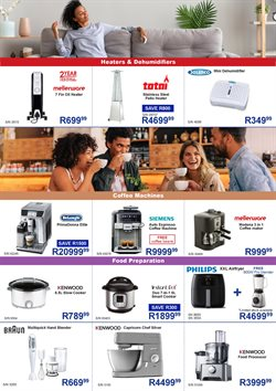 Food processor specials in Hirsch's
