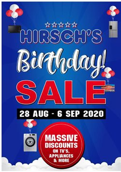 Hirsch's catalogue in Cape Town ( Expired )