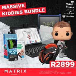 Matrix Warehouse catalogue ( Expired )