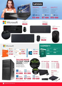 Keyboard offers in the Matrix Warehouse catalogue in Cape Town