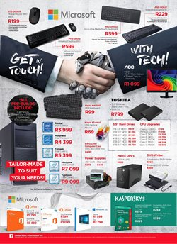 Microsoft offers in the Matrix Warehouse catalogue in Cape Town