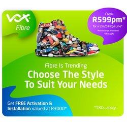 Vox Telecom offers in the Vox Telecom catalogue ( 2 days left)