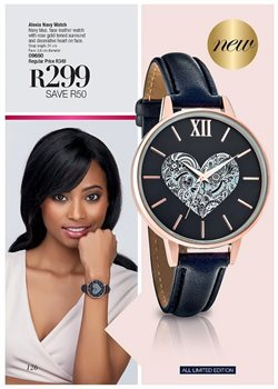 Watch offers in the AVON catalogue in Cape Town