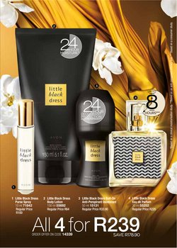 Beauty & Pharmacy offers in the AVON catalogue ( 16 days left )