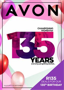 Beauty & Pharmacy offers in the AVON catalogue ( 5 days left)