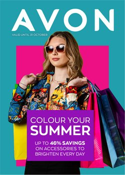 Beauty & Pharmacy offers in the AVON catalogue ( Published today)