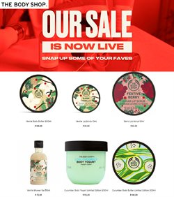 Beauty & Pharmacy offers in the The Body Shop catalogue in Pretoria ( 26 days left )