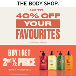 The Body Shop offers in the The Body Shop catalogue ( Expires today)