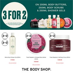The Body Shop offers in the The Body Shop catalogue ( 2 days left)