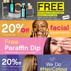 Beauty & Pharmacy offers in the Sorbet catalogue ( 2 days left)