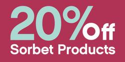 Sorbet deals in the Johannesburg special