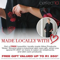 Perfect 10 catalogue ( Published today)