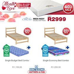 Home & Furniture offers in the Ericssons catalogue in Polokwane ( 2 days left )