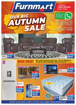 Furnmart catalogue in Polokwane ( 18 days left )