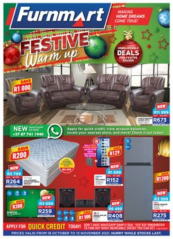 Home & Furniture offers in the Furnmart catalogue ( 22 days left)