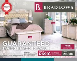 Bedroom offers in the Bradlows catalogue in Cape Town