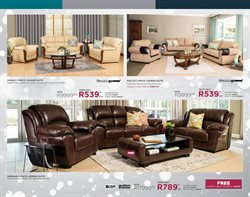 Sofa offers in the Bradlows catalogue in Cape Town