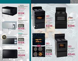 Stove offers in the Bradlows catalogue in Cape Town