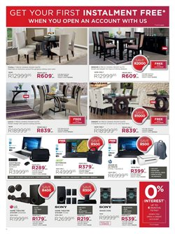 Laptop offers in the Bradlows catalogue in Cape Town