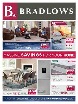Home & Furniture offers in the Bradlows catalogue in Port Elizabeth ( 15 days left )