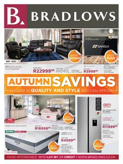 Home & Furniture offers in the Bradlows catalogue in Benoni ( 12 days left )