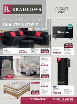 Home & Furniture offers in the Bradlows catalogue ( 1 day ago)