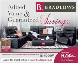 Home & Furniture offers in the Bradlows catalogue in Cape Town