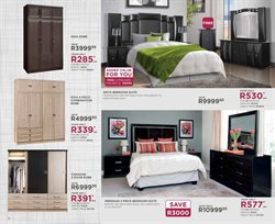 Wardrobe with drawers offers in the Bradlows catalogue in Cape Town