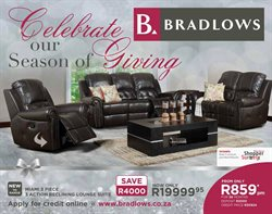 Home & Furniture offers in the Bradlows catalogue in Randburg