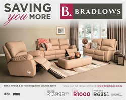 Home & Furniture offers in the Bradlows catalogue in Johannesburg