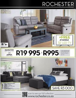 Rochester deals in the Johannesburg special