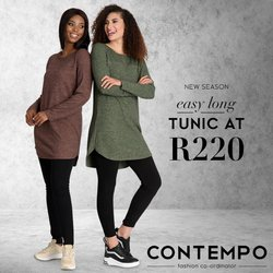 Clothes, Shoes & Accessories offers in the Contempo catalogue in Durban ( Expires today )