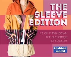 Fashion World deals in the Johannesburg special