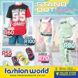 Clothes, Shoes & Accessories offers in the Fashion World catalogue ( 2 days left)