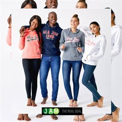 JAM Clothing deals in the Pretoria special